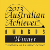 2013 Australian Achiever AWARDS Winner