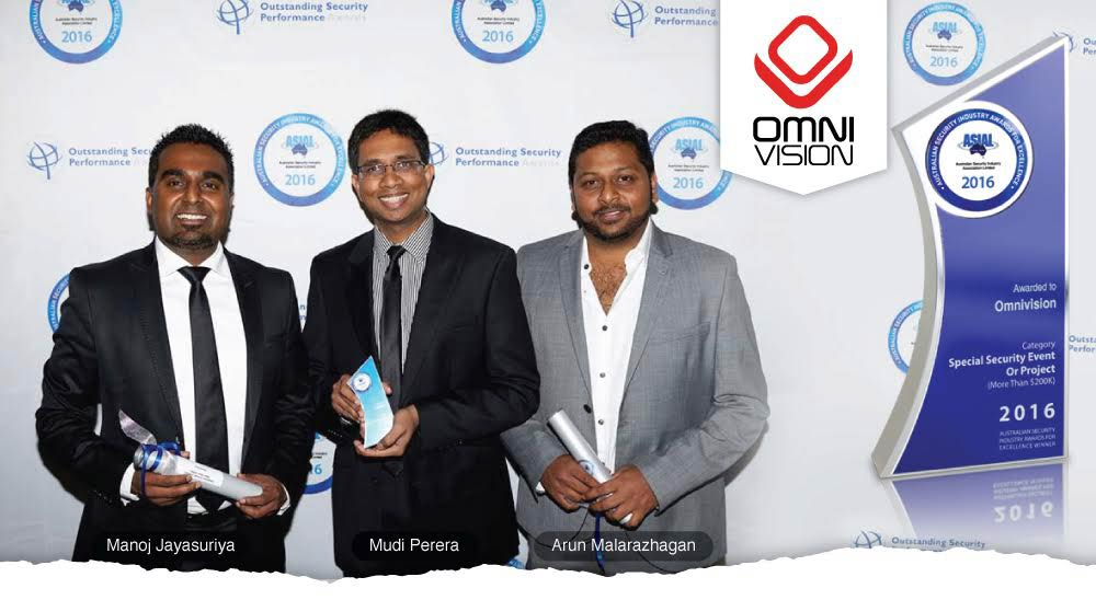 OmniVision Wins at The 2016 Australian Security Industry Awards