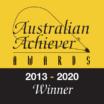 Australian Achiever Awards Winner 2013-2020