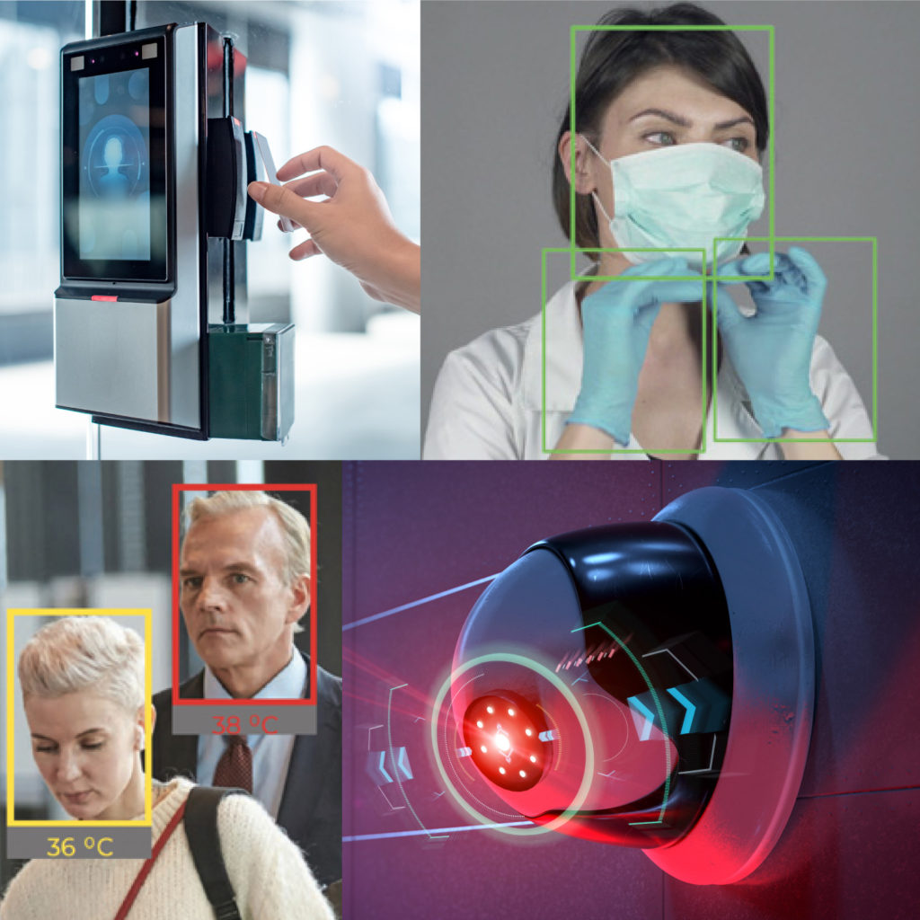 face detection, Heat sensor technology
